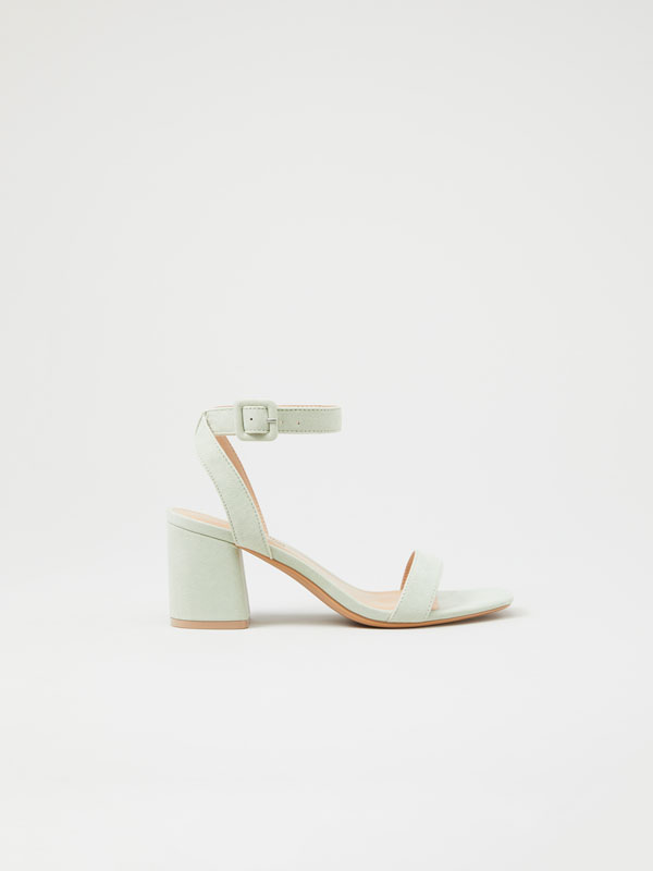 Basic high-heel sandals