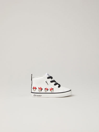 Minnie Mouse ©Disney high-top sneakers