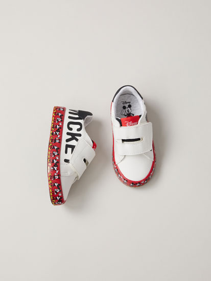 Mickey Mouse © Disney sneakers with printed soles
