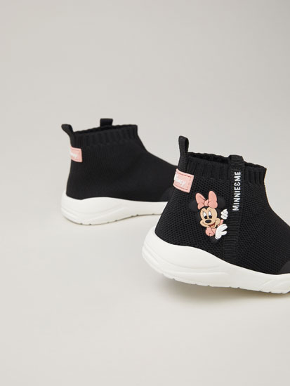 Minnie Mouse ©Disney sock-style sneakers