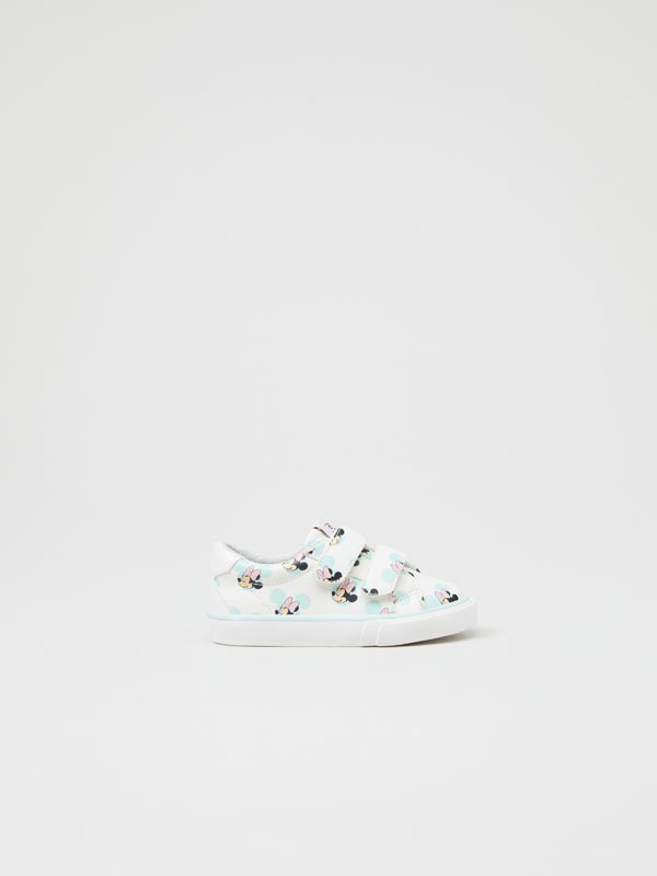 Minnie ©DISNEY print sneakers