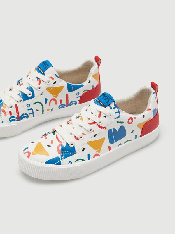 Doodle sneakers