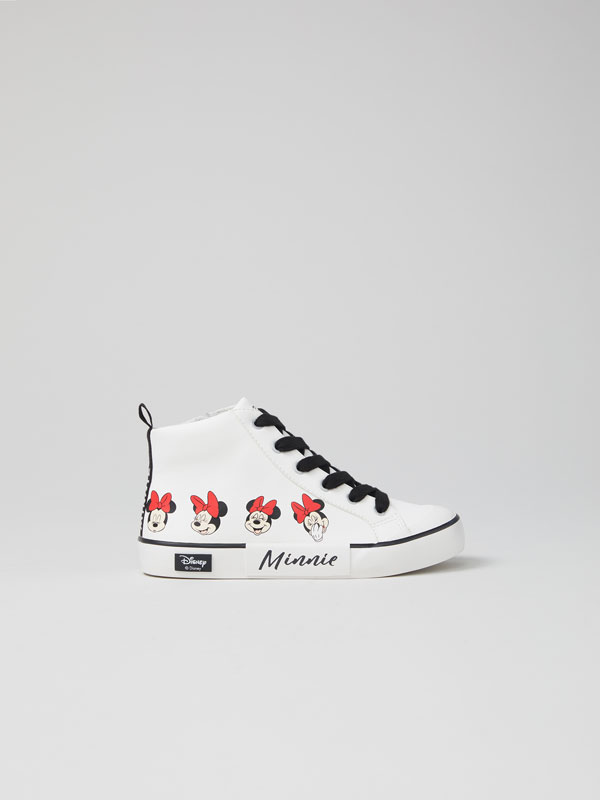 Minnie © Disney high-top sneakers